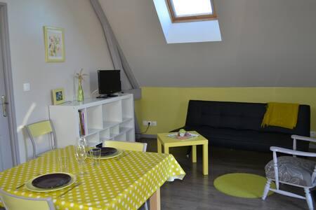 Appartement citron à la campagne - Les Trois-Pierres - Apartment