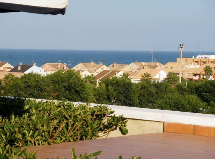 Penthouse in Perello the beach - Albufera