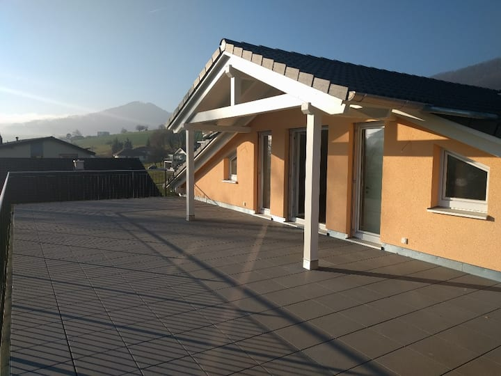"Terrace of  ""Geeren"" / Ultimate Roof Flat    170m2"