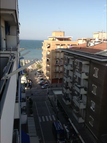 Seaview in Adriatico 6places sleep - Bellaria - Leilighet