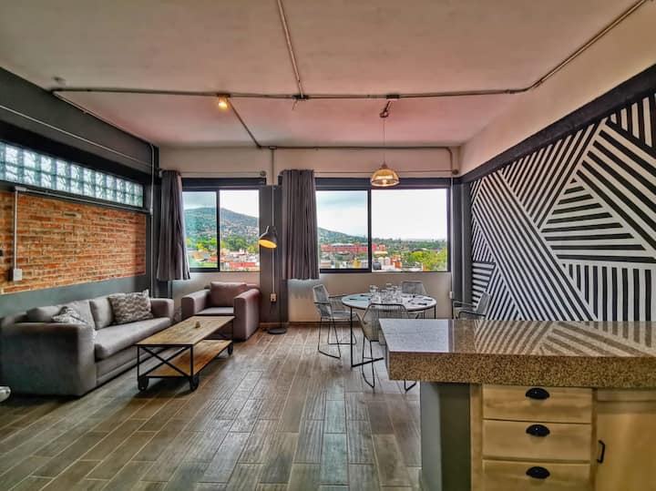 Urban brand new 2BD apt in the heart of San Miguel