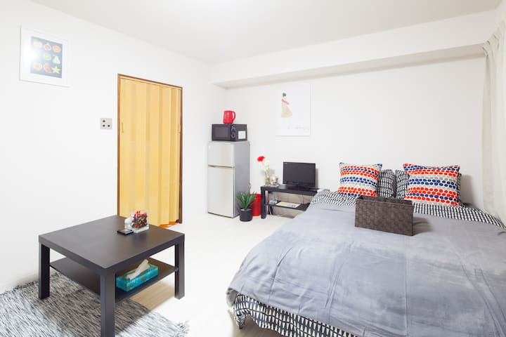 NEW! 6min walk Akihabara, Kanda station. Free Wifi - Chiyoda-ku - Appartement