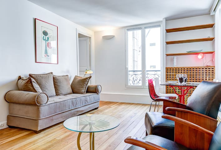 Lovely 2 bd flat in heart of Paris - Paris - Apartment