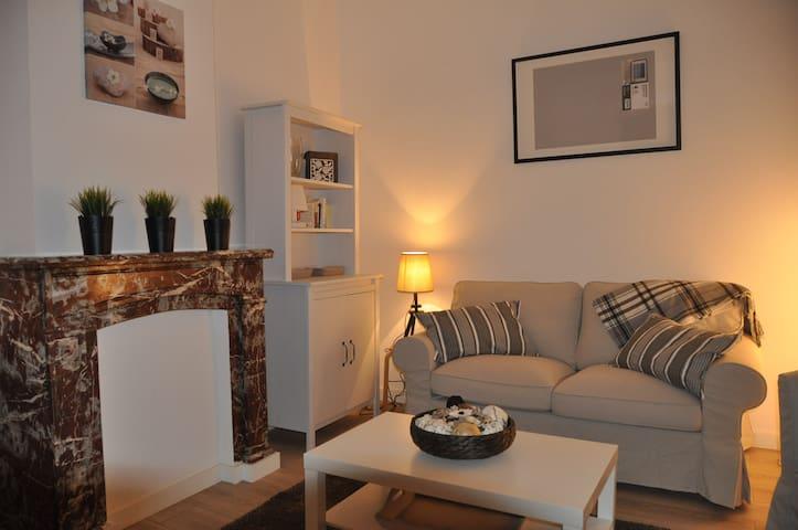 Bel appartement duplex cosi tout équipé - Liège - Wohnung
