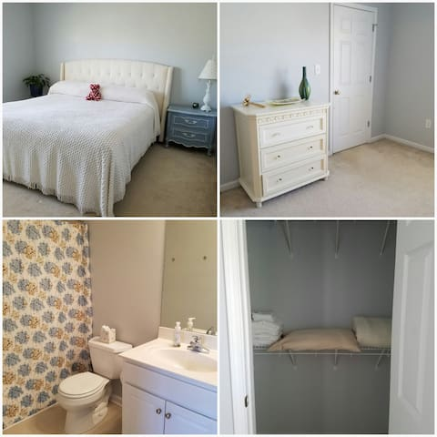 Safe Haven for Travel Nurses.  Private Bed/Bath. - Bogart - Apartament