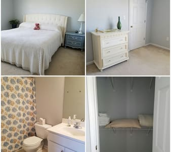 Safe Haven for Travel Nurses.  Private Bed/Bath. - Bogart - Wohnung