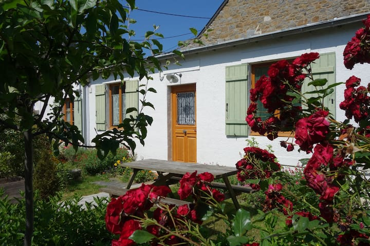 Maison-2 ch/4P jardin-centre-calme  - Saint-Brieuc - Huis
