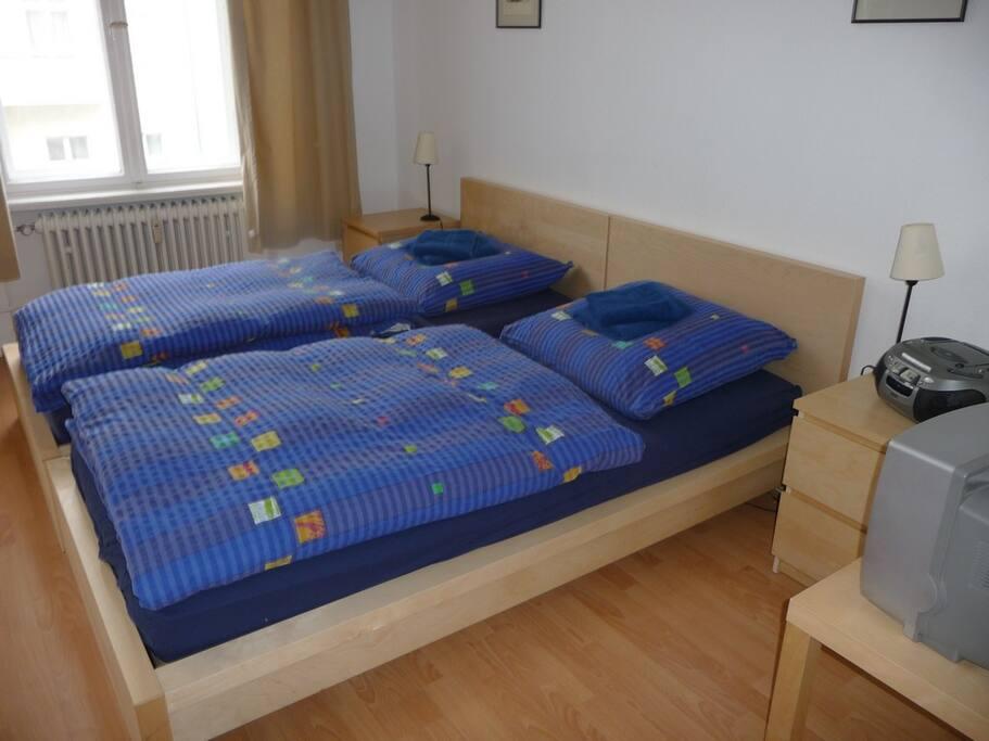 Schlaf- & Wohnraum für max. 3 Personen
