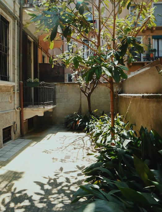 Courtyard of the building - Cortile condominiale