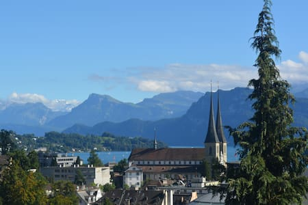 Double Bedroom in Appt w/ Lake View - Lucerne - Apartment