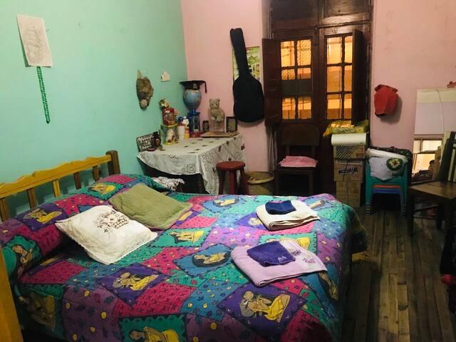 1 Acogedora habitación - casa estilo Rústico