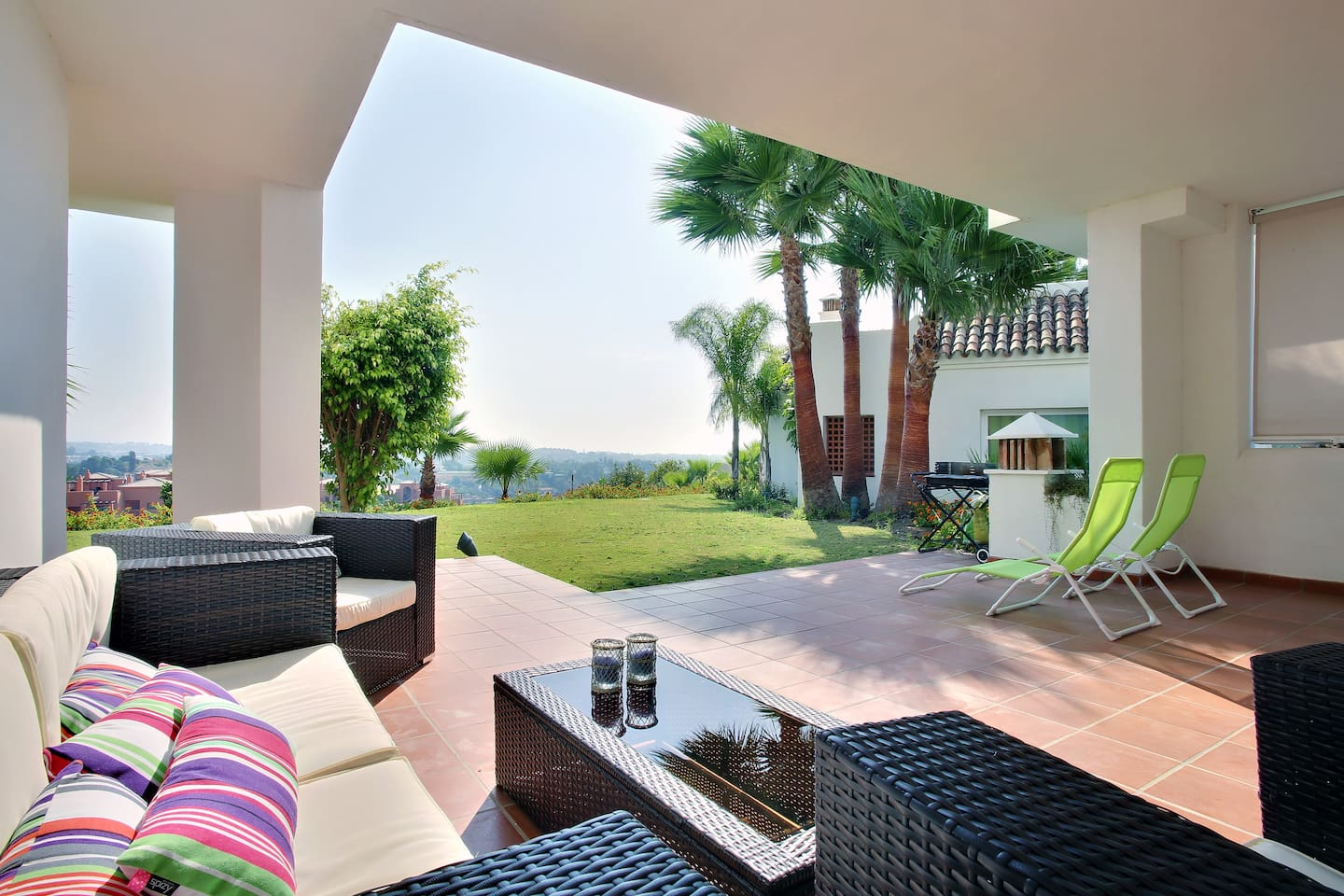 Terrace The appartm. is legally registretet as rentproperty under the reg.no VFT/MA/02459