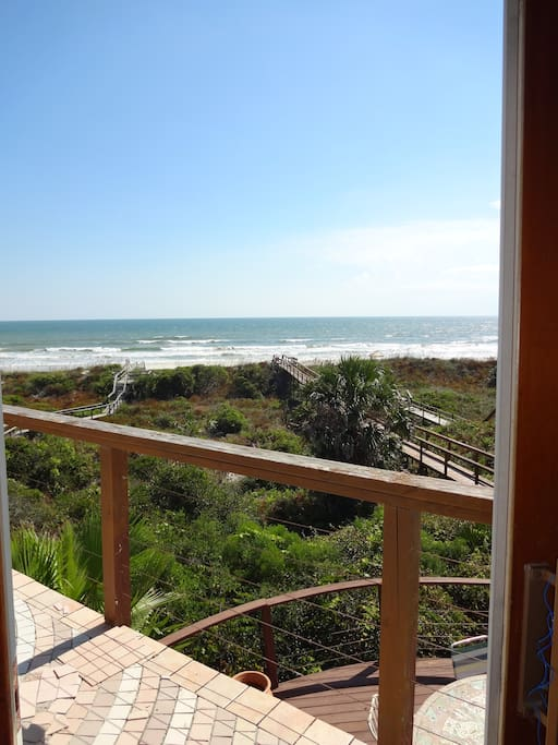 oceanfront view from master suite