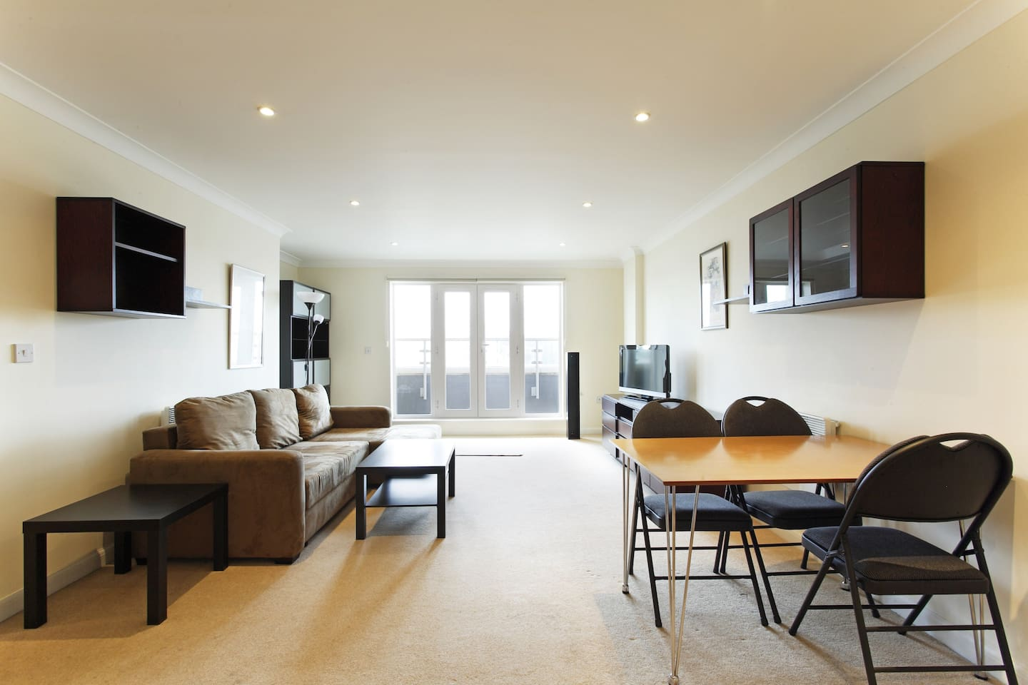 Apartment 67 With Double Sofa Bed and Patio Doors to Large Balcony