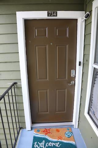Summer Vibes Front door
