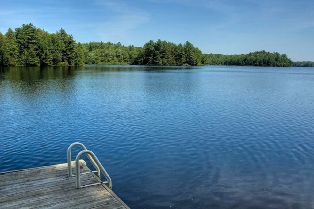 Lake from the dock