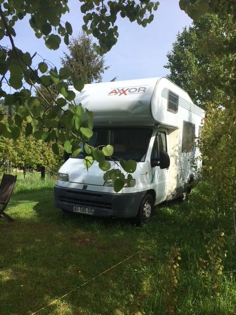 """Camping car """"Le Temps de vivre"""""""