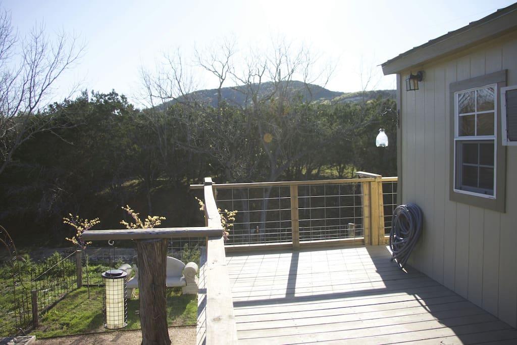 Deck #2 - Beautiful Views