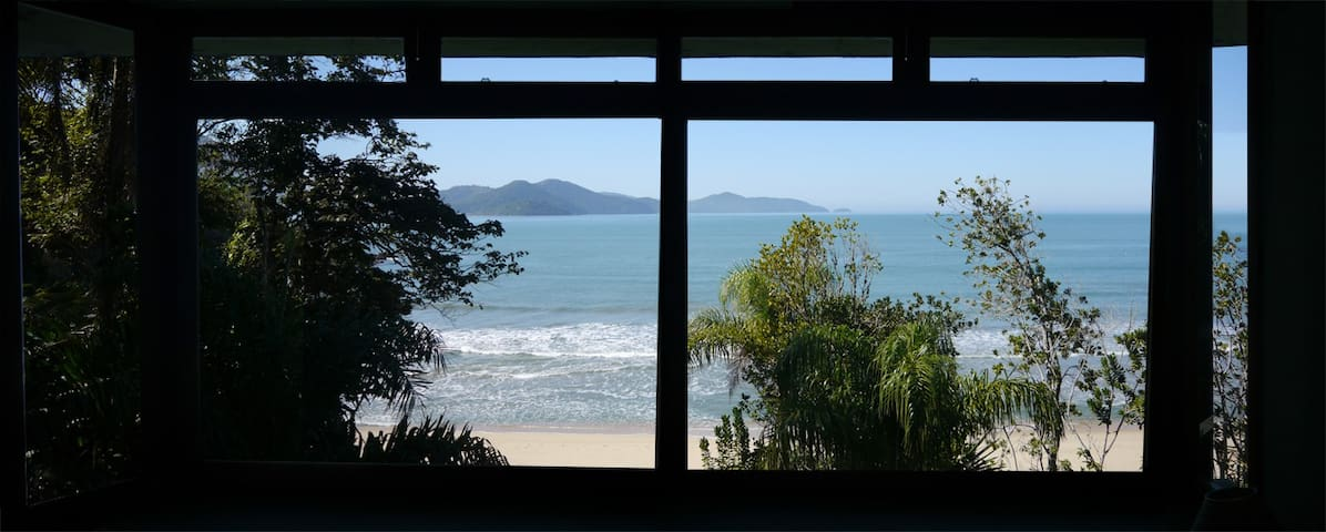 Wonderful view with access to beach