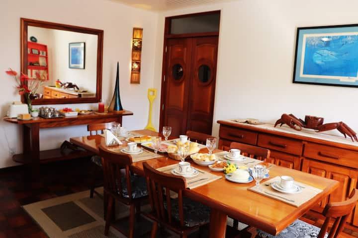 Casa bonita e espaçosa em Canavieiras.