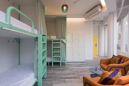 圖格旅大空間混合背包房