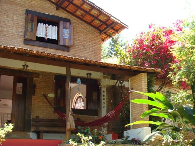 Sítio Villa Piemonte- Inhotim e Cidades Históricas - Brumadinho - บ้าน