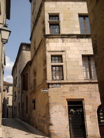 Le logis du puy St Front:gîte urbain à Périgueux. - Périgueux - Apartamento