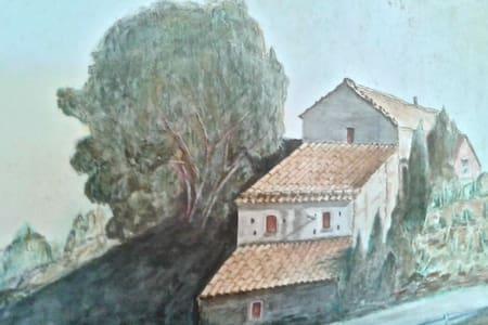 House winefactory in wineland - Presa