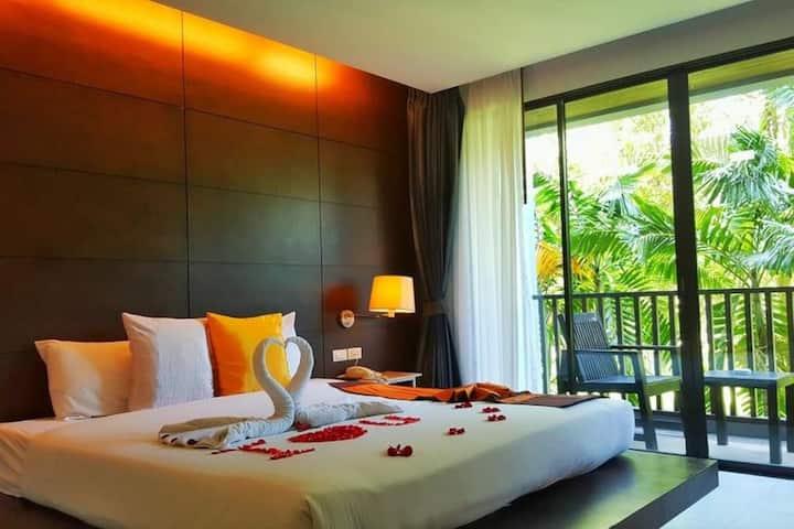 Modern boutique resort in Krabi