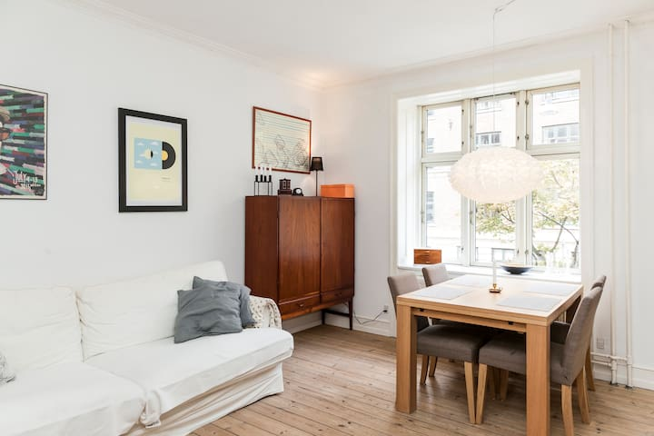 Charming apartment in fabulous Nørrebro - Kopenhagen - Appartement
