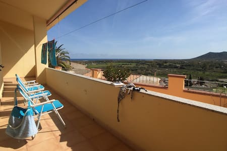 Amazing view to the beach in Posada 2trawell - Posada - Leilighet
