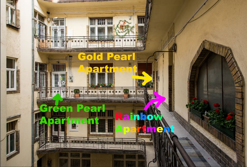 Location Pearl Apartments
