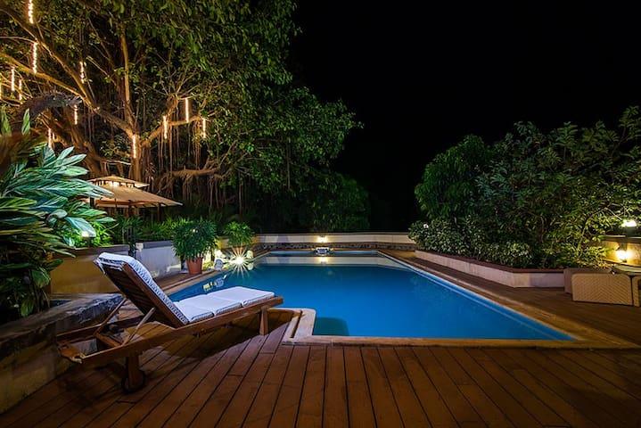 Zen villa Swanand farm Luxury Pool villa  Alibaug
