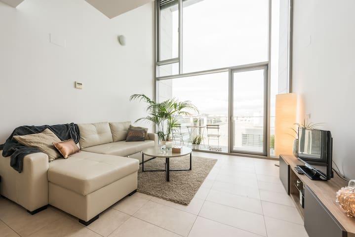 Loft con maravillosas vistas - San Sebastián de los Reyes - Apartment
