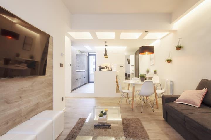 Mirasol apartament en Bilbao la vieja by the urban hosts
