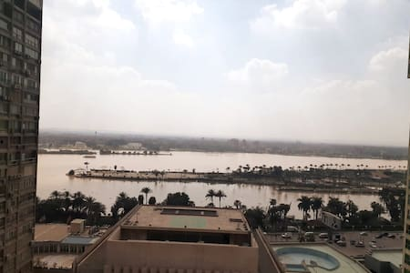 Apartment for rent in Cornish Maadi, Nile View