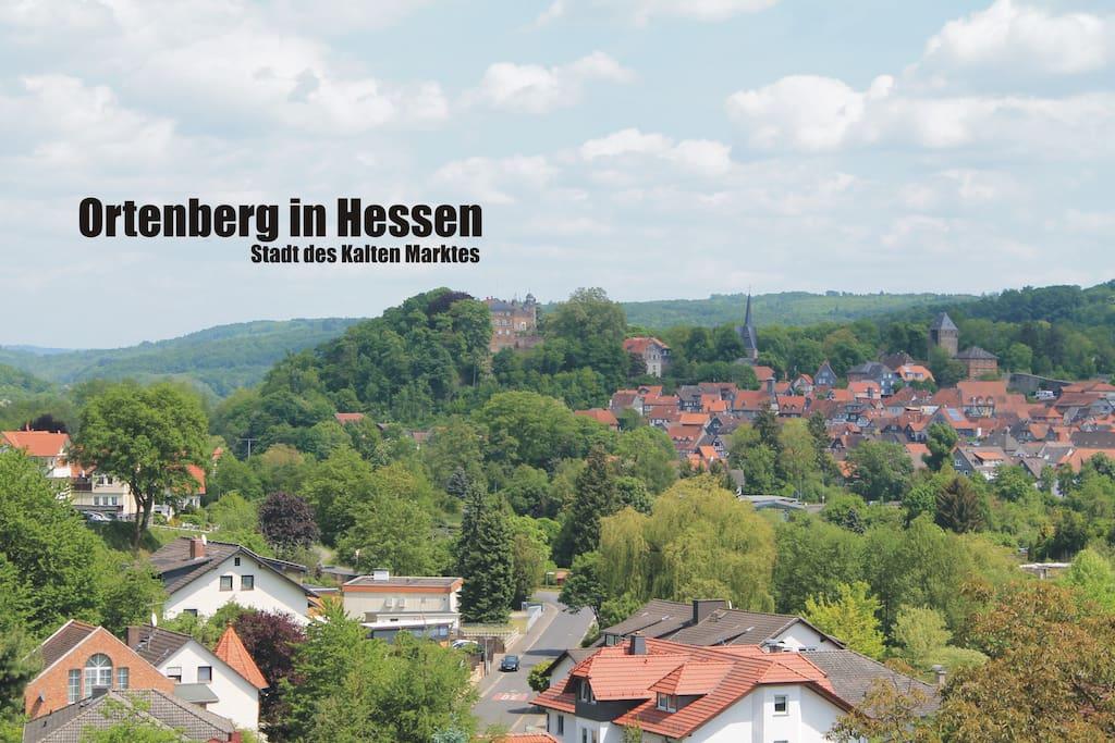 Ortenberg in Hessen | Stadt des Klaten Marktes