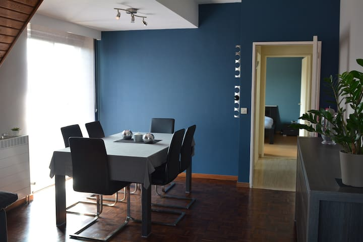 Flat 70m² near Brussels/Lion Mound - Braine-l'Alleud - Wohnung
