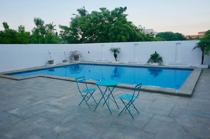 Villa Moya - Beach house with pool @ ECR Chennai