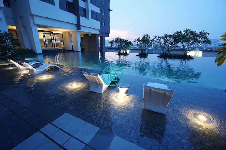 ⭐NEW⭐WIFI 100mps⭐ Paloma Residence 3km Subang Jaya