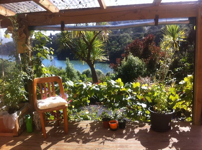 Gorgeous, little eco-house with bay views and sun - Waitati - Bed & Breakfast