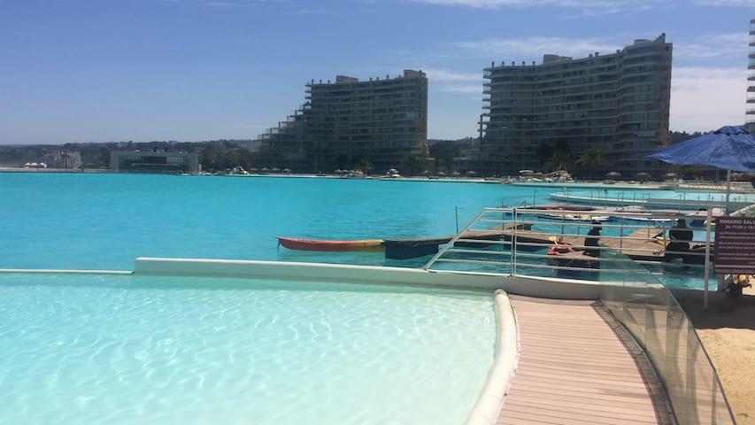 San Alfonso del Mar Increíble Vista,Hermoso,Seguro