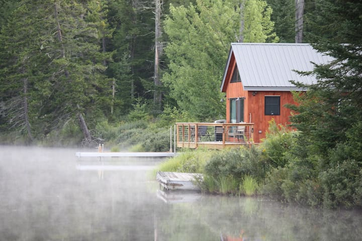 The Boathouse: Cabin on 230 Acres w/ Trails & Lake