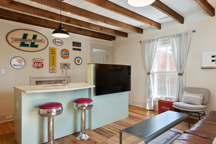 Service Station Apartment | One of Four Thoughtfully Designed Units in The Belmont Guesthouse