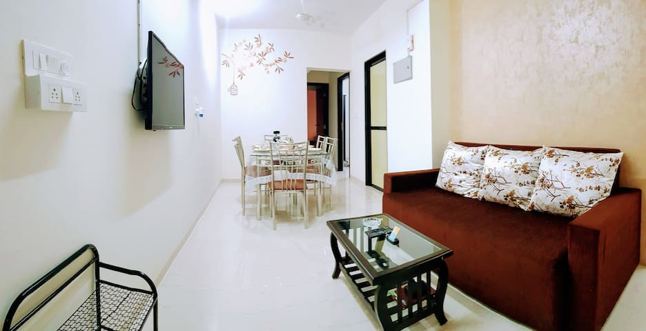 BLISS 19: 3 BR Family-Style Apt on Andheri SV Road