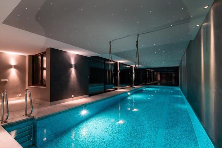 Preciosa villa en Bloemendaal con piscina privada y sauna
