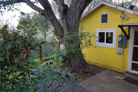 QUIET HILLTOP COTTAGE, AMAZING WATER VIEWS - El Sobrante - Ev
