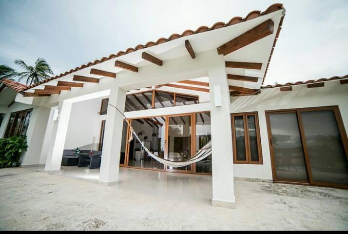 Marina beach house