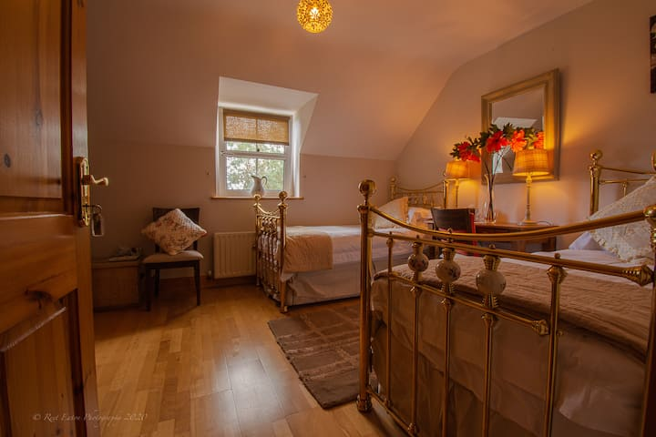 Lis-ardagh Lodge B&B twin bedded personal bathroom