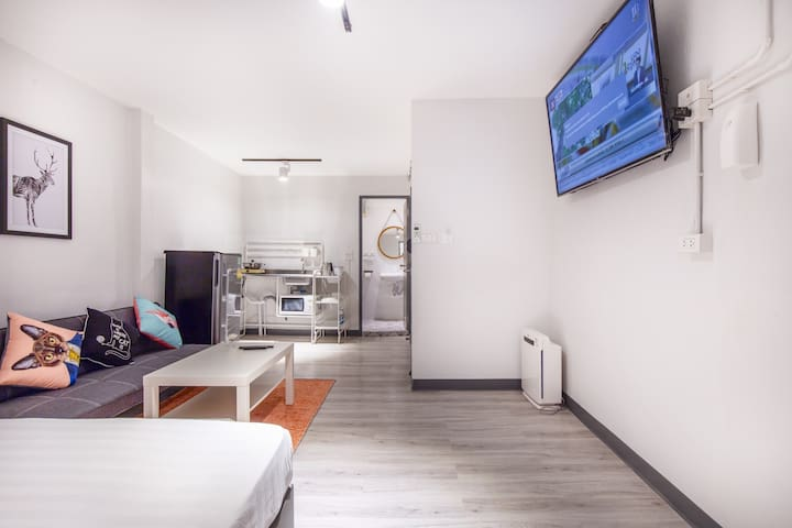 6 pax Apartment walk platinum mall, Kingpower, BTS